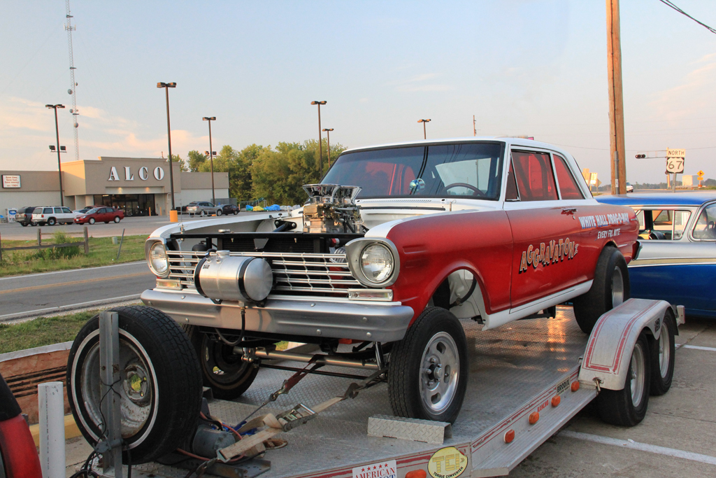 Old Gassers Race Cars