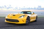 Viper in yellow