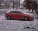 Chevy Cobalt SS ice