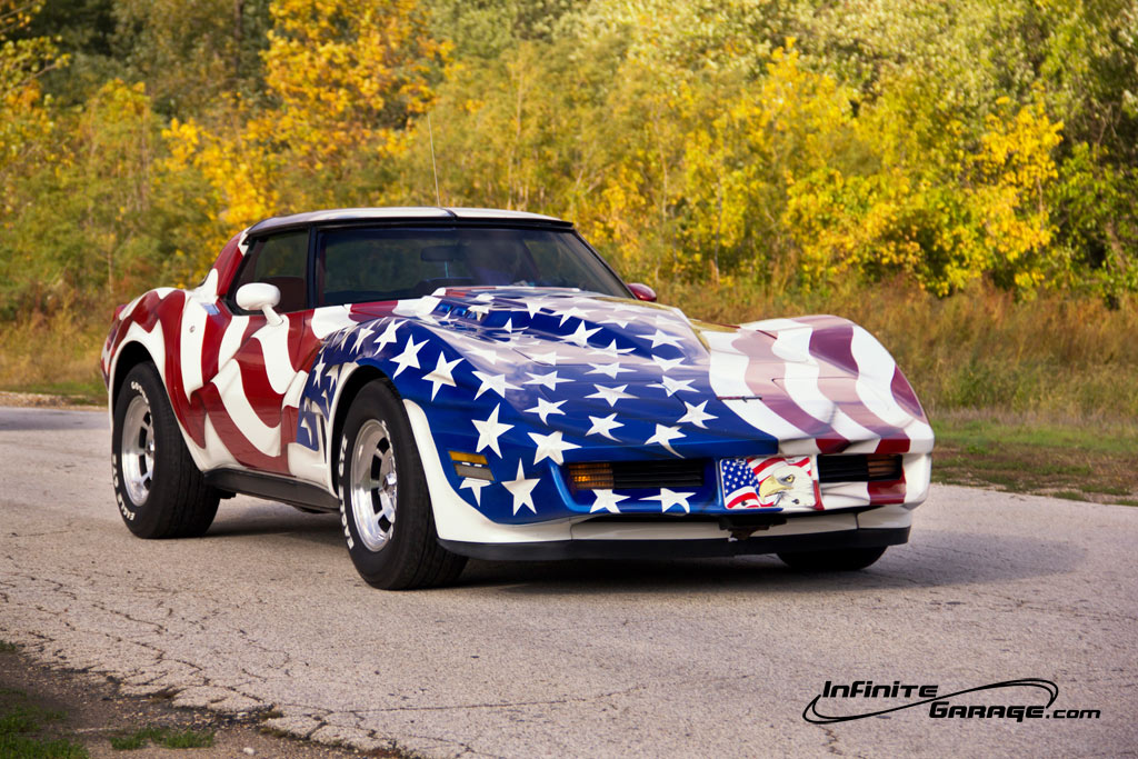 That Vette Above Has Been A Feature Car Before, But I Donu0027t Really Have  Anything Better For Veterans Day Weekend, So I Thought It Was Appropriate.