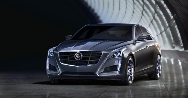 Cadillac CTS front