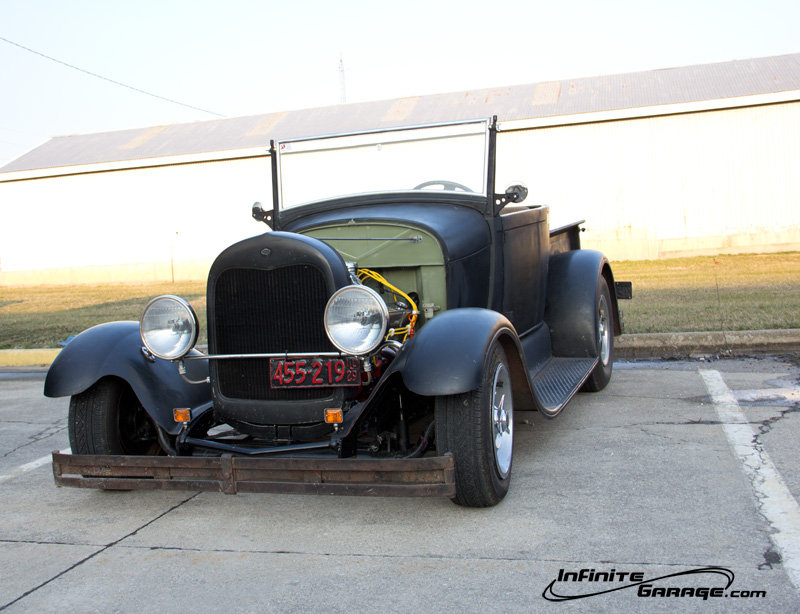 late 1920s Ford hot rod