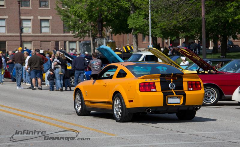Shelby GT500 rear end