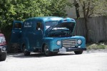restored delivery truck