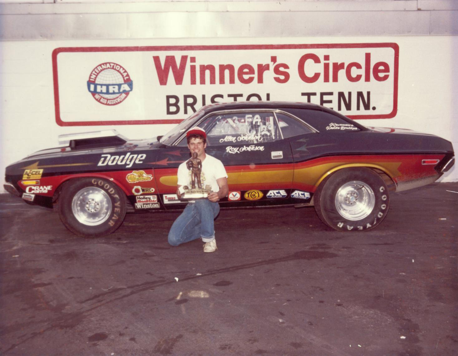 Challenger drag racer