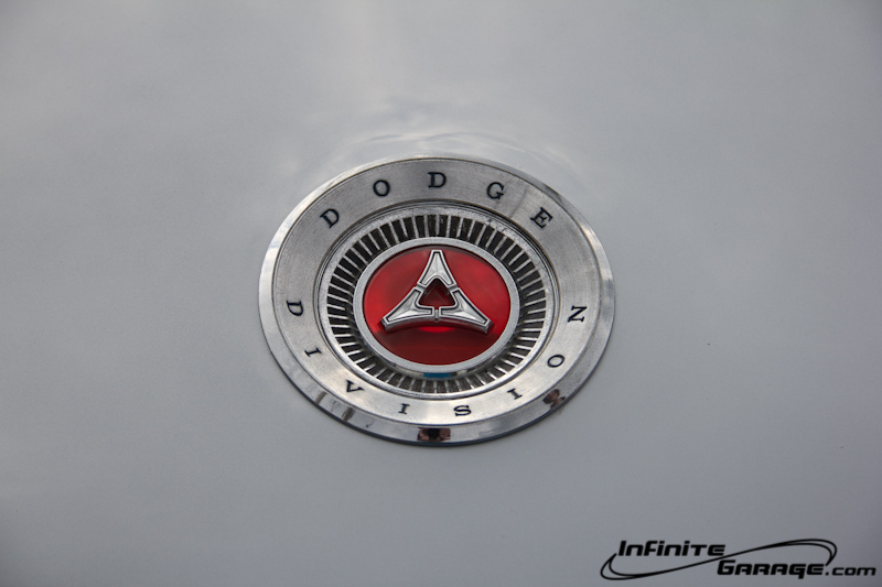 1966 Charger trunk badge