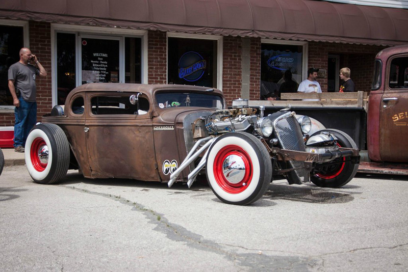 Super chopped 33 ford infinite garage for Garage ford 33