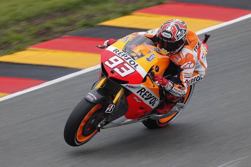 Marc Marquez Sachsenring 2013