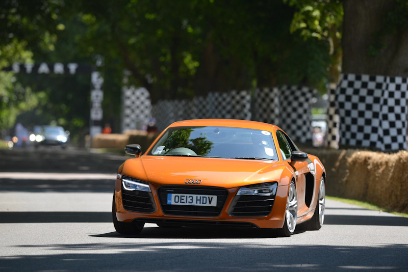 Audi R8 at Goodwood