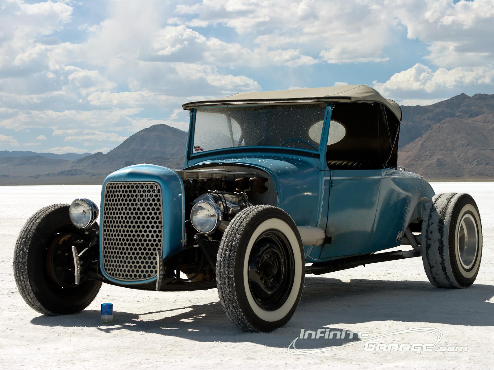 Blue Coupe Bonneville