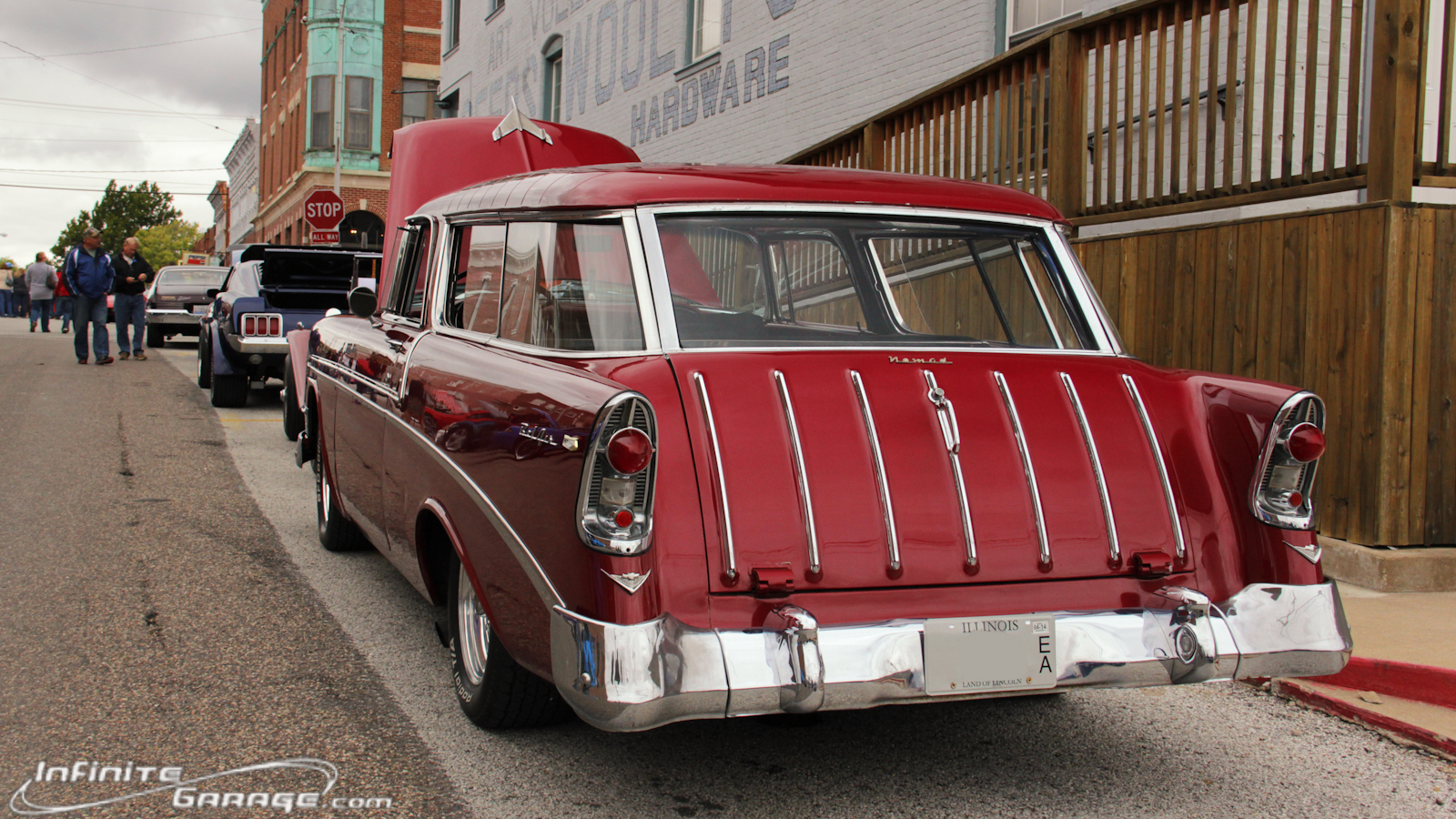 Chevy Nomad wallpaper wide