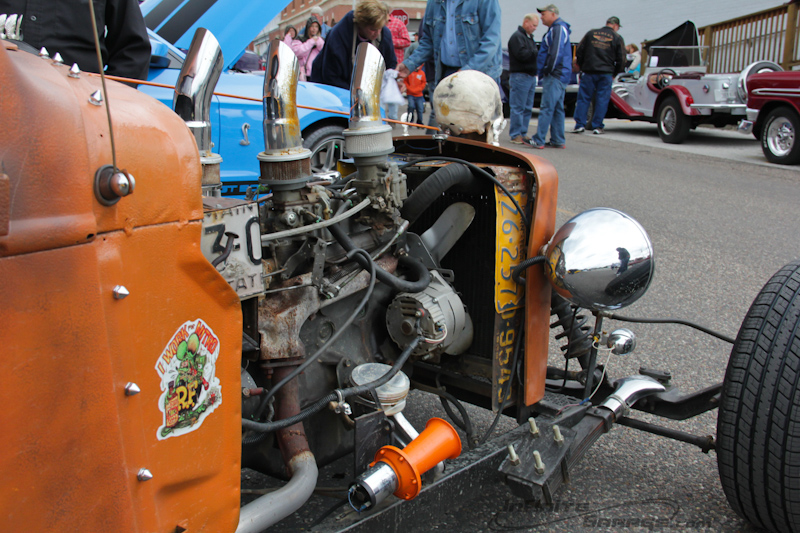 halloween-rat-rod-engine-radiator-shroud