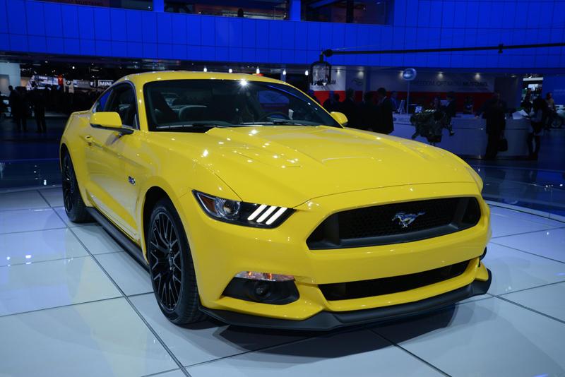 Yellow-Mustang-at-NAIAS
