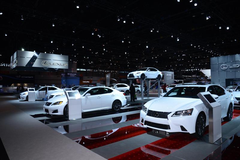 Lexus-booth