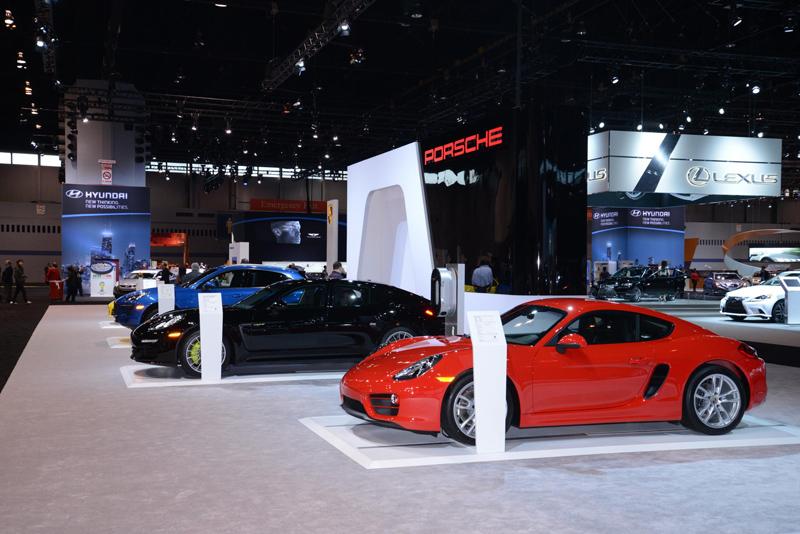 Porsche-Booth