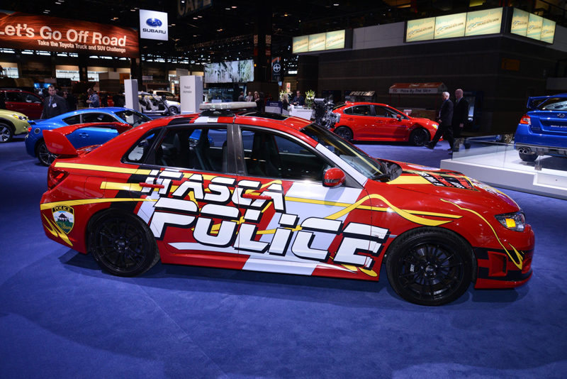 Subaru-WRX-Police-Car