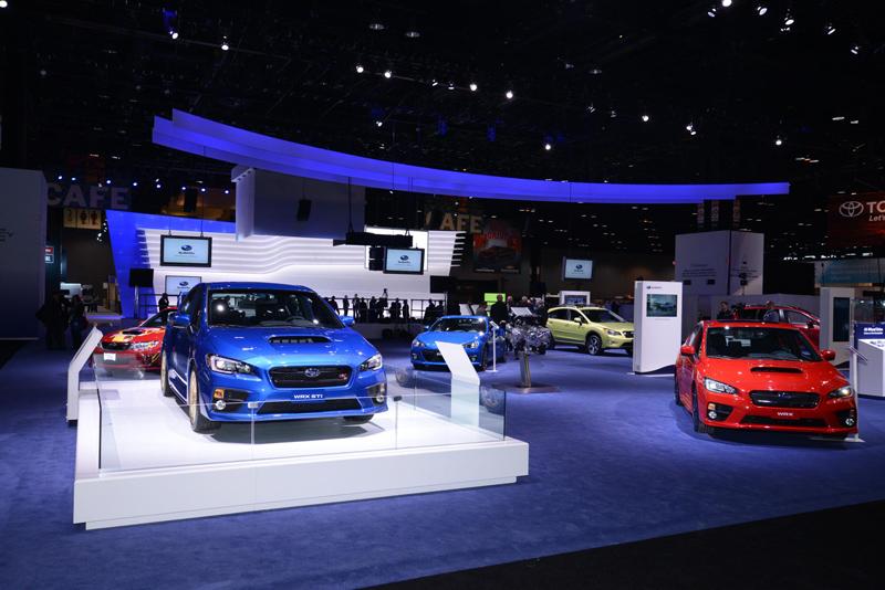 Subaru-booth