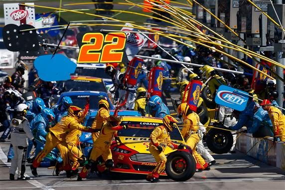 Chaos in the pits