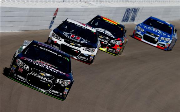 Dale Jr leads the pack