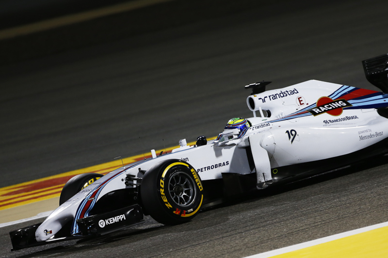 Felipe Massa during qualifying