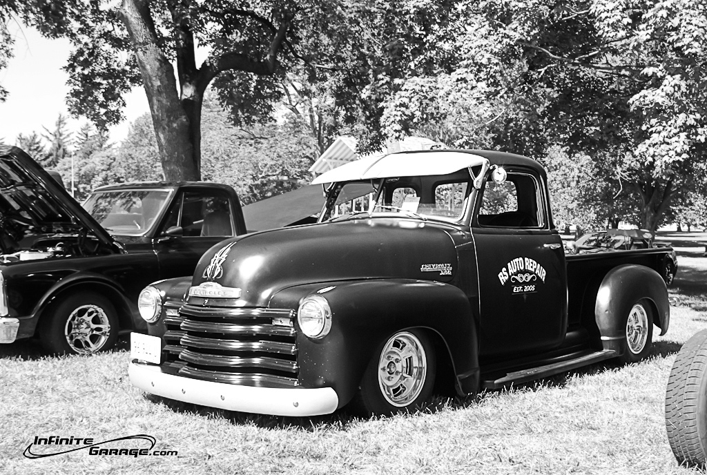 chevy-truck-black-and-white