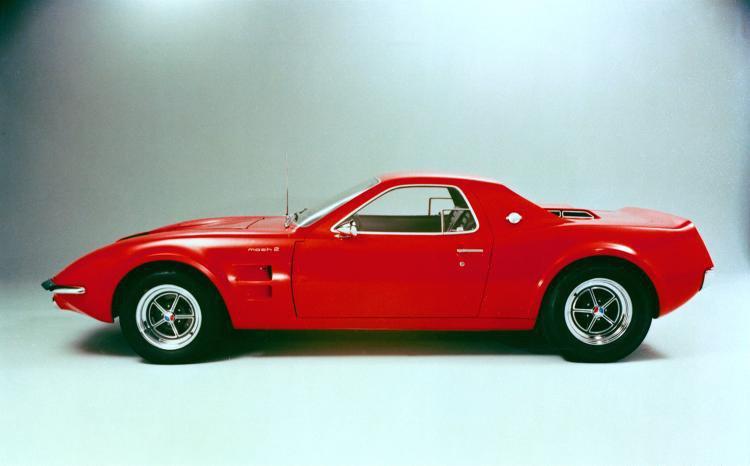 1970 Ford Mach 2 concept car  sized
