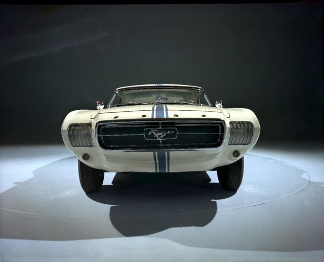 1963 Mustang Ii Concept Car